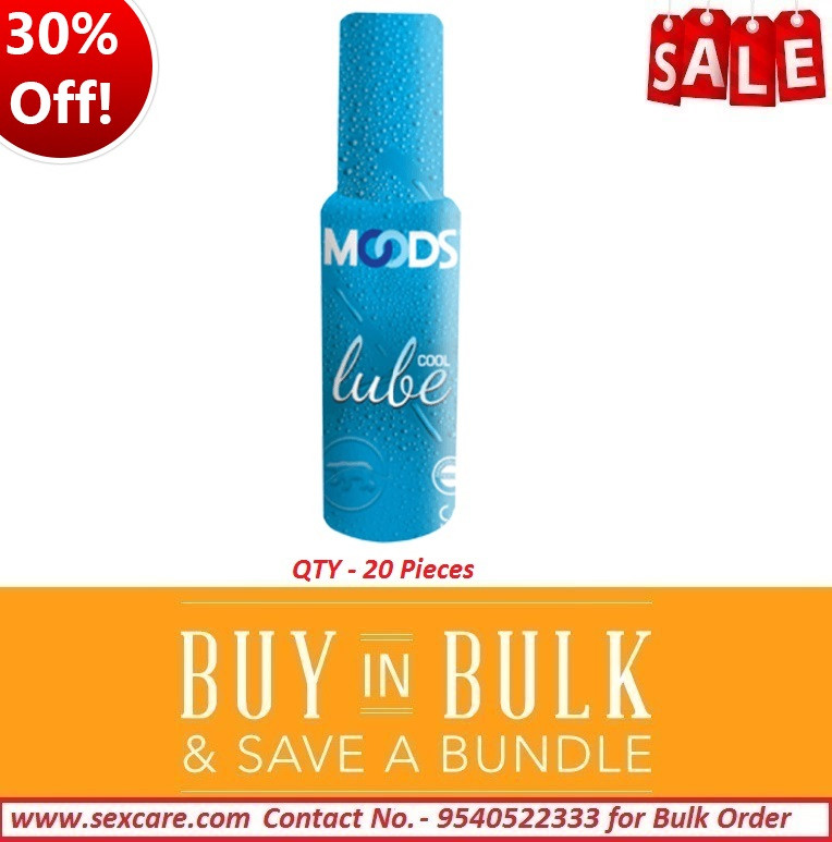 Sexcare Moods Cool Lubes 60ml ( Pack of 20 )