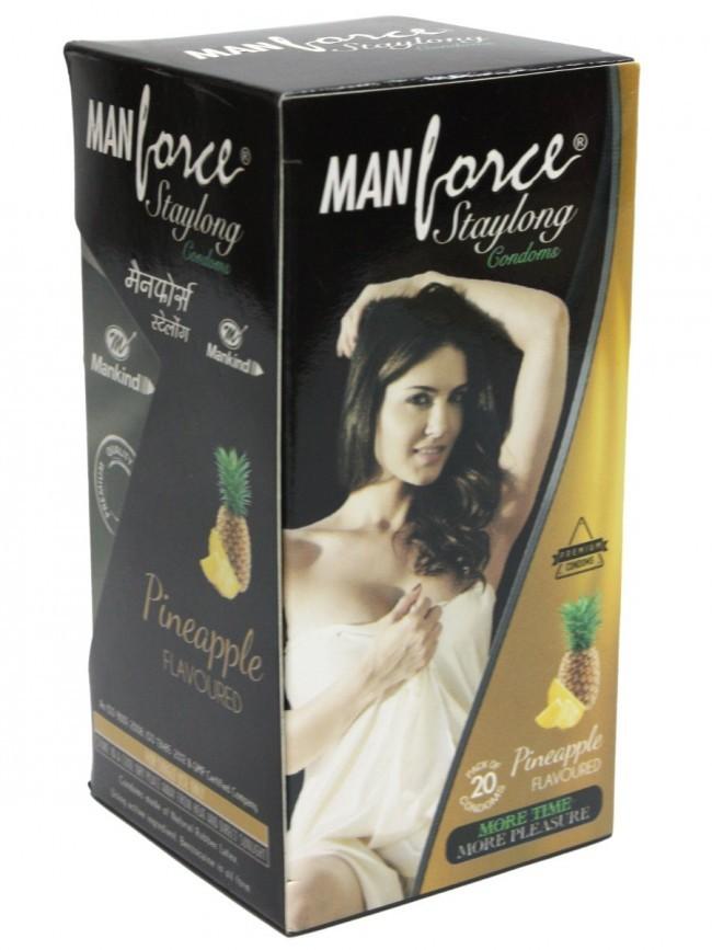 Manforce Staylong Pineapple Condoms 20's