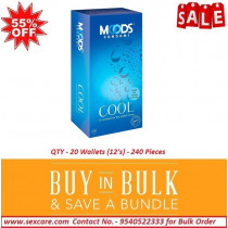 Moods Cool Condom 12 Pcs ( Pack of 20 Boxes )