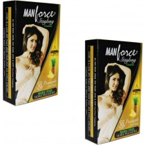 Manforce Staylong Pineapple Condoms 10's (Set of 2)