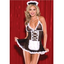 First Night Sexy Maid RolePlay Costume