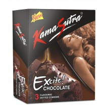 Kamasutra Excite Chocolate Flavoured Condoms 3's (Pack of 5)