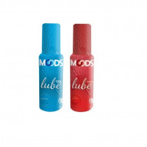 Sexcare Moods Cool and Warm Lubes 60ml 2'pcs of each (Pack of 4 )