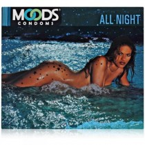 MOODS ALL NIGHT CONDOMS 3'S PACK