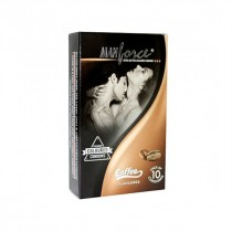 Manforce Wild Colored Coffee Flavored Condoms 10's