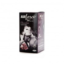 Manforce Wild Chocolate Condoms 20's