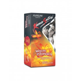 KamaSutra Pleasure Warm Intimacy Condoms 12's
